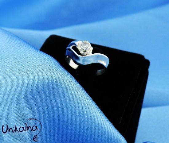 Сребърен пръстен - 55