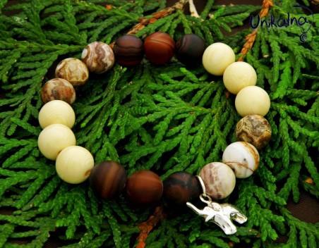 STYLISH AUTUMN - гривна от естествени камъни