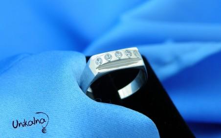 Сребърен пръстен-13