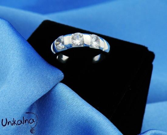 Сребърен пръстен - 56