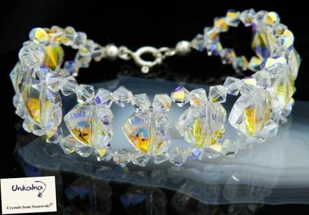 Гривна от кристали Swarovski Crystal Queen