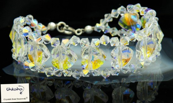 Crystal Queen - гривна от кристали Swarovski