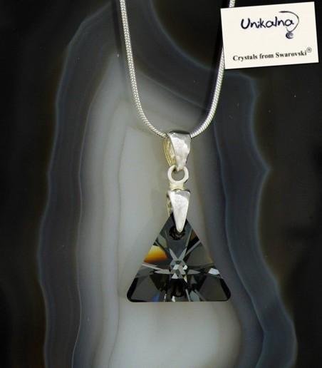 Кристал Swarovski Silver Triangle