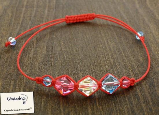 Гривна против уроки с кристали Swarovski - 6