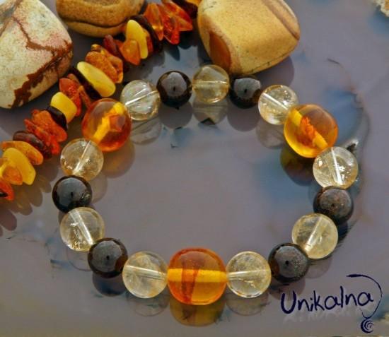 Natural Bead Bracelet - гривна от естествени камъни