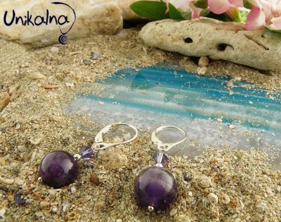 Обеци Lilac Beauty