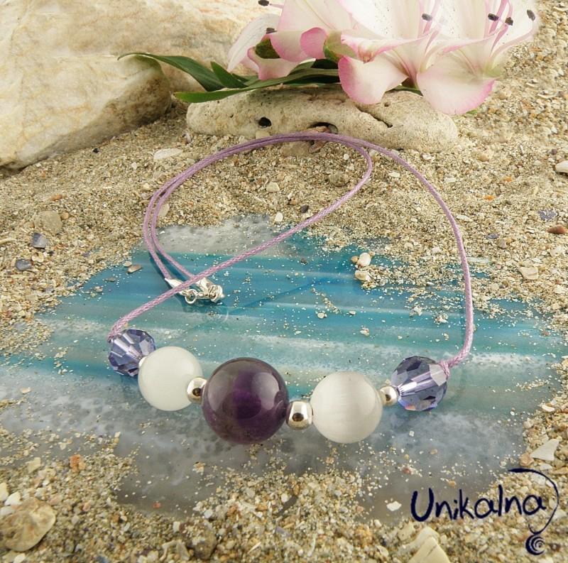 Колие Lilac Beauty