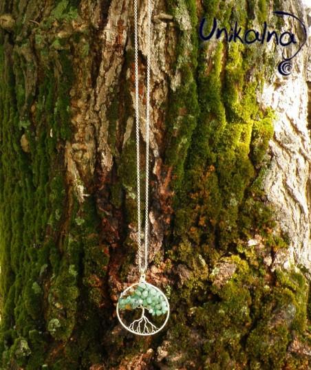 Дърво на Живота от Ахат и Тигрово око