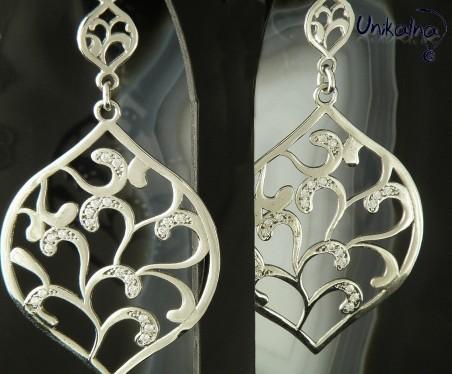 Сребърни обеци Silver Grace Earings