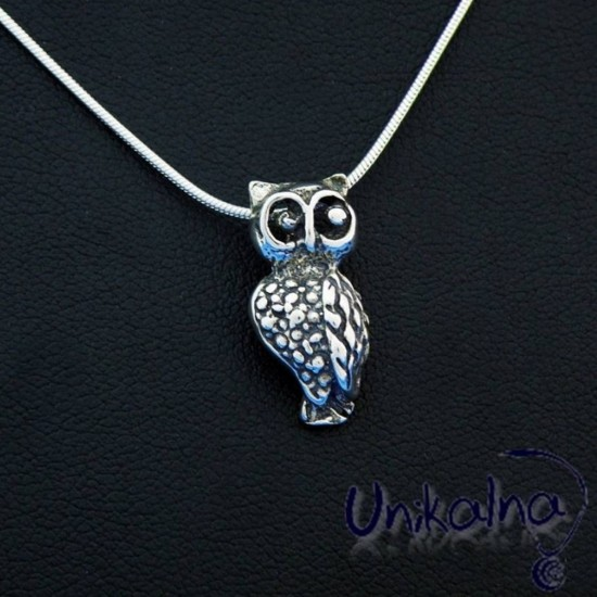 SILVER OWL - сребърна висулка