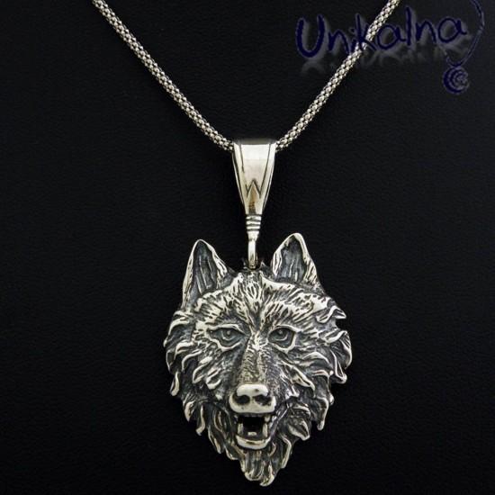 Werewolf - сребърна висулка