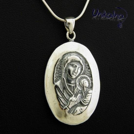 Богородица - 1 - сребърна...