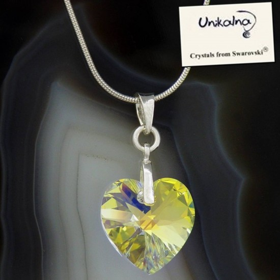 Кристал Swarovski AB Heart 15
