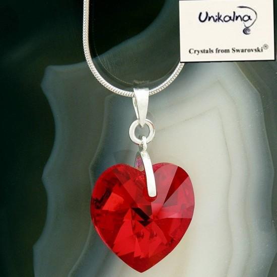 Кристал Swarovski Siam Heart