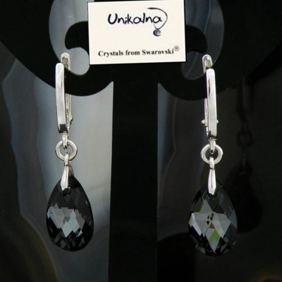 Обици с кристал SWAROVSKI...