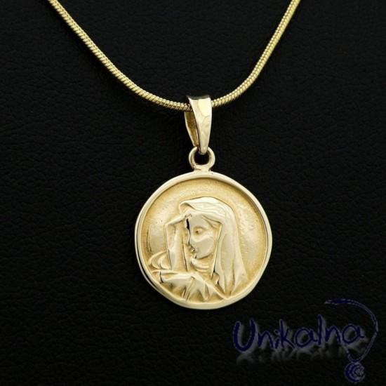 MARY - златна висулка