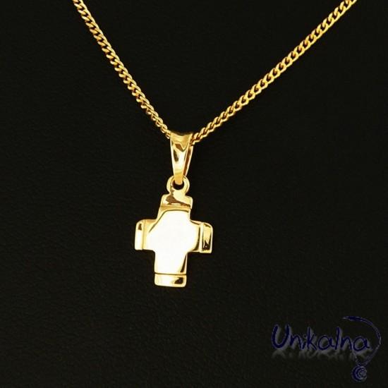 Златна висулка GOLDEN CROSS...