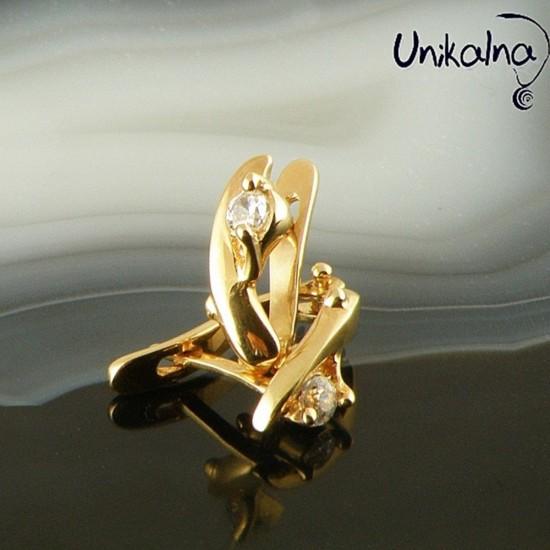 Златни Обеци Simple Golden...