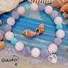 РИБИ - воден знак - гривна от естествени камъни