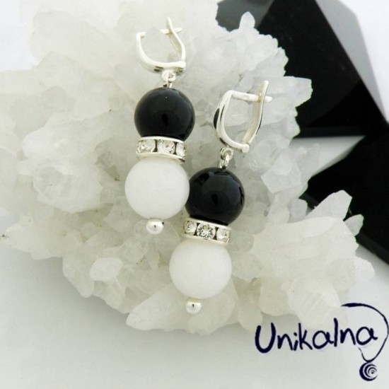 Black & White - сребърни...