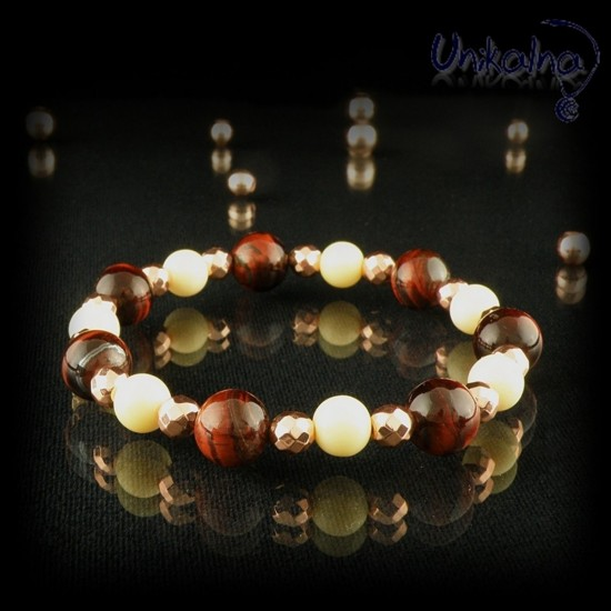 Tiger Eye Rose Gold -...