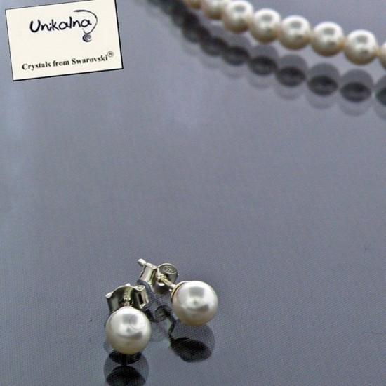 Mini pearls - сребърни...