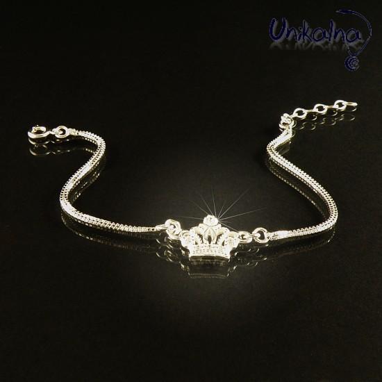 Сребърна Гривна Silver Crown
