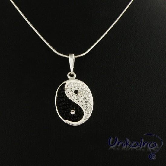 Сребърна висулка Yin & Yang