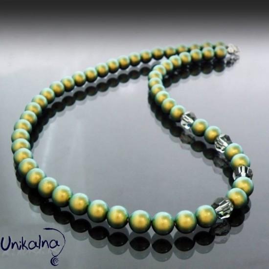 Колие от перли - Green Pearl