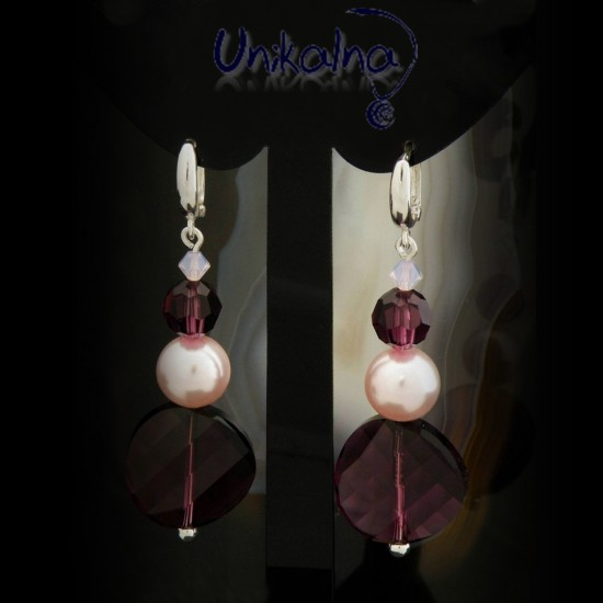 Violet Twist - сребърни...