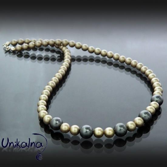 Колие от перли Platinum pearl