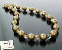 Луксозни Сваровски колиета с кристали и перли Swarovski