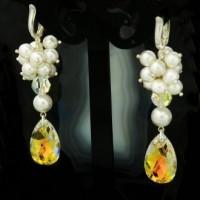 Луксозна бижутерия с кристали и перли SWAROVSKI