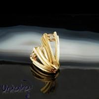 Златни обеци 14k